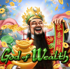God of Wealth Slots. Play new RTG Slots!