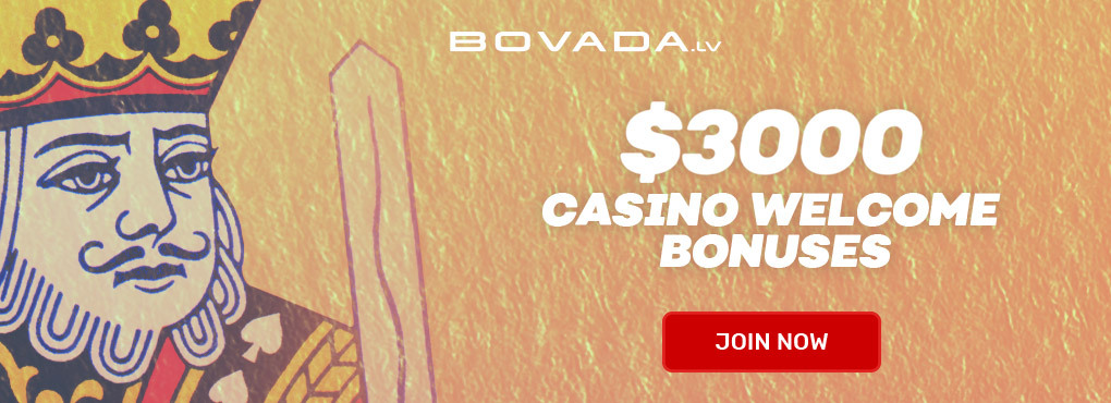 Play Slots at Bovada - $3000 Welcome Bonus