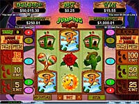 Jumping Beans slot game