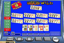 Mega Multy Hand Deuces Wild Poker