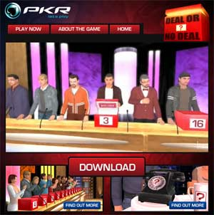 Deal or No Deal in 3D Only at PKR