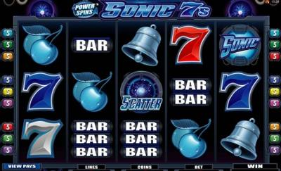 Power Spins Sonic 7s Video Slot