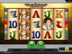 Tom Sawyer and Huckleberry Finn Slots