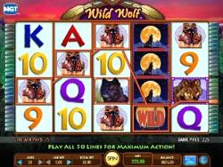 play Wild Wolf Slots for cash