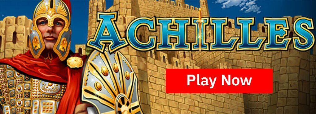 Achilles Slots - 5 reels and 20 paylines