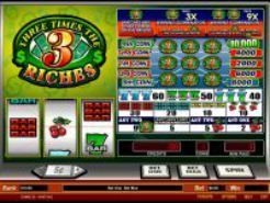 Three Times The Riches Slots
