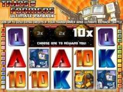 Transformers Ultimate Payback Slots